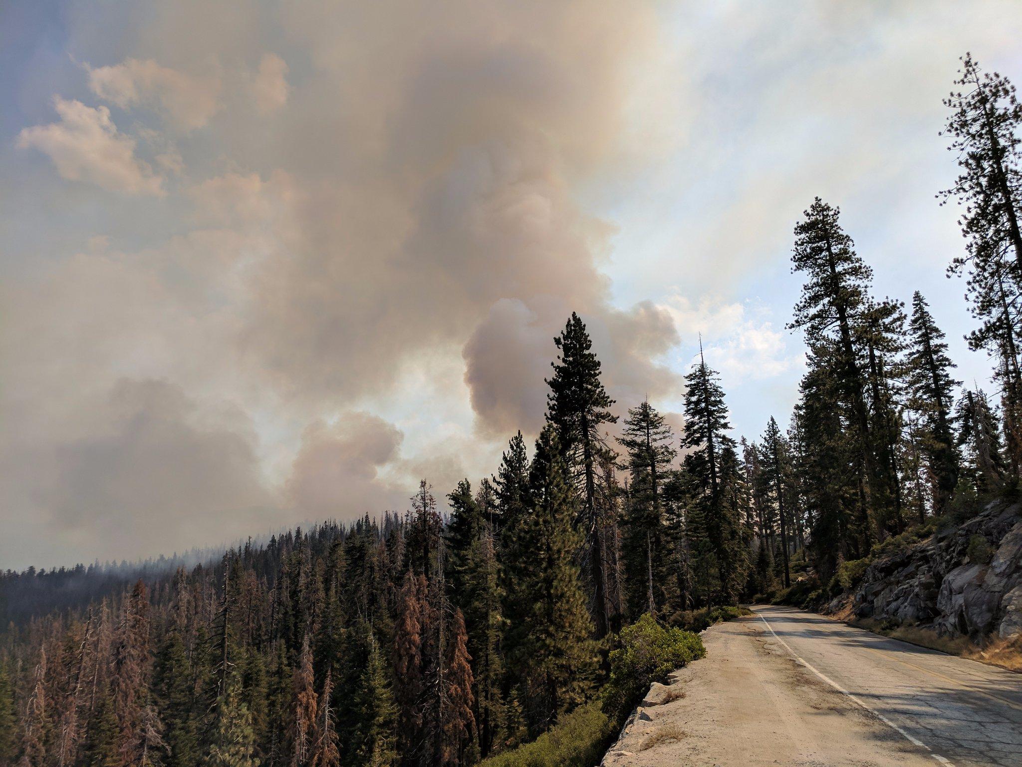 Glacier Point Road - Empire Fire