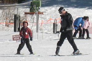 learning to ski david h webster 2011
