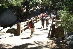 vernal fall footbridge